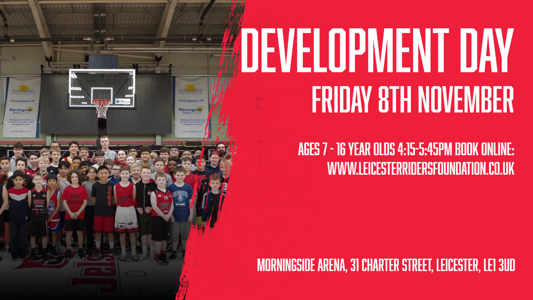 November 8th 2019 Development Day Leicester Riders V Glasgow Rocks