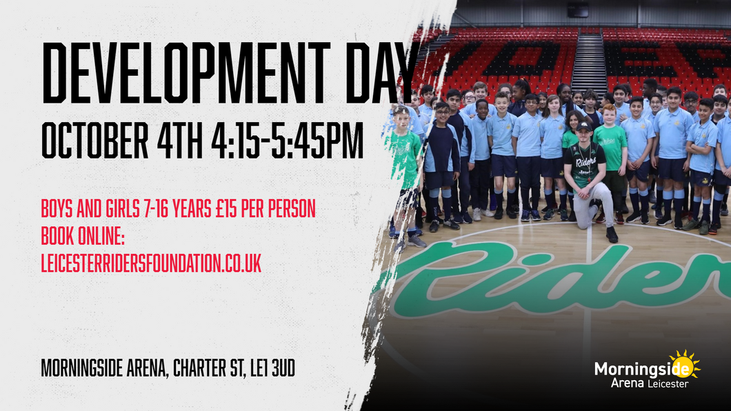October 4th 2019 Development Day Leicester Riders V Newcastle Eagles