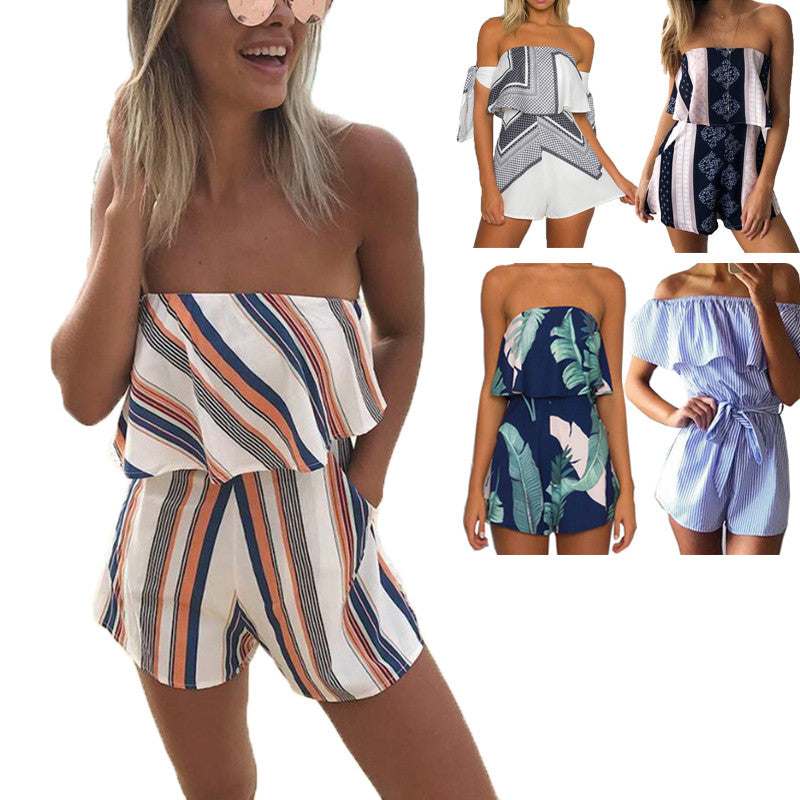 Chest Wrapped Romper