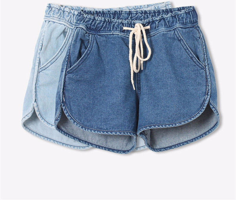 Denim Loose Cotton Shorts
