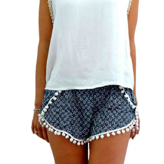 Extrovert Mini-Shorts