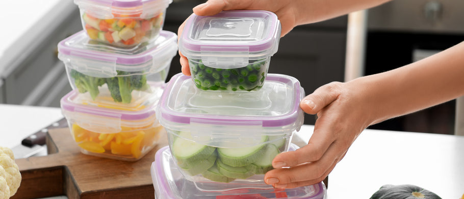 Choosing Healthier Food Storage Containers