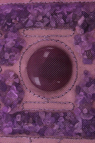 Energy Therapy Made Easy With This Crushed Amethyst Healing Mat by Rose Boghos of Energy Matters, LLC.