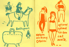 Mini Zine | Trude Herr on Horse by Franziska Schaum