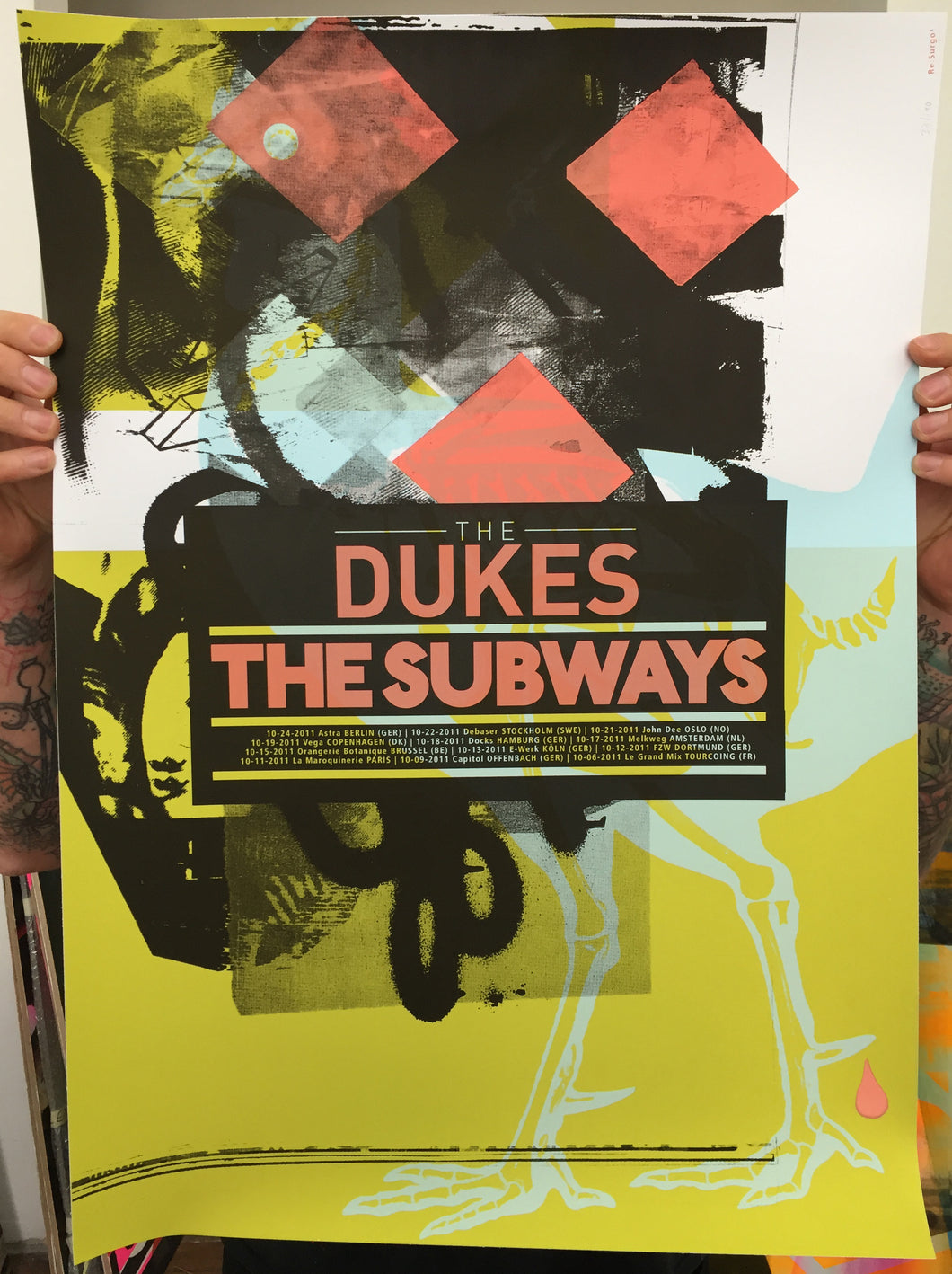 The Dukes & The Subways | Gfeller + Hellsgård, Re:Surgo! (2011)