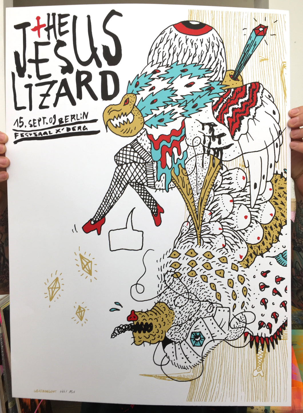 The Jesus Lizard | G+H / Bongoût