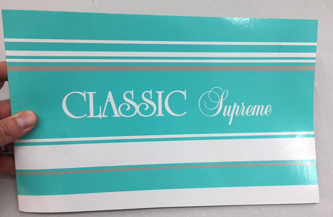 Classic Supreme | Christa Treadwell (Perish Publishing)
