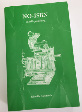 NO-ISBN | Bernard Cella (Salon Für Kunstbuch)
