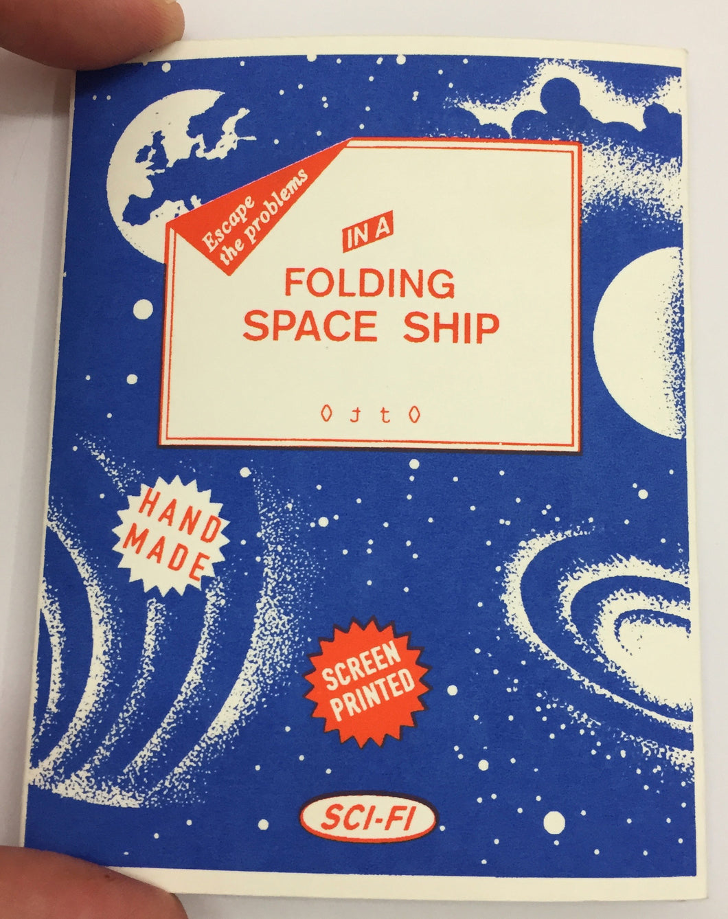 Folding Space Ship | Otto (Ottographic)