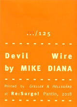 Mini Zine | Devil Wire by Mike Diana