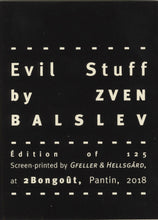 Mini Zine | Evil Stuff by Zven Balslev