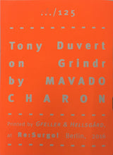 Mini Zine | Tony Duvert on Grindr by Mavado Charon