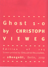 Mini Zine | Ghost 1-0 by Christoph Vieweg