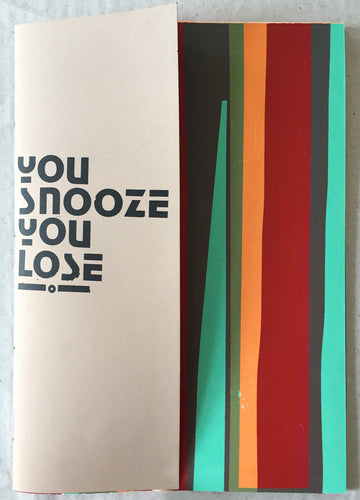 You Snooze You Lose | Gfeller + Hellsgård