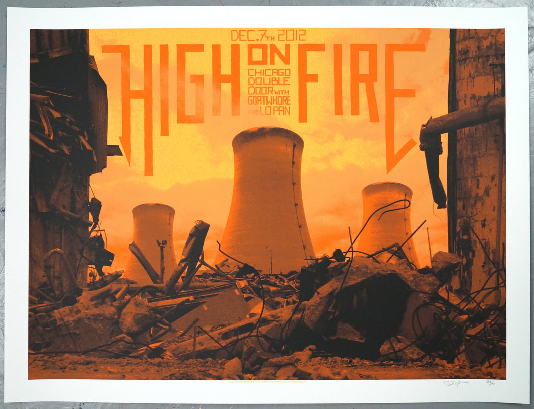High on Fire | Crosshair (2012)
