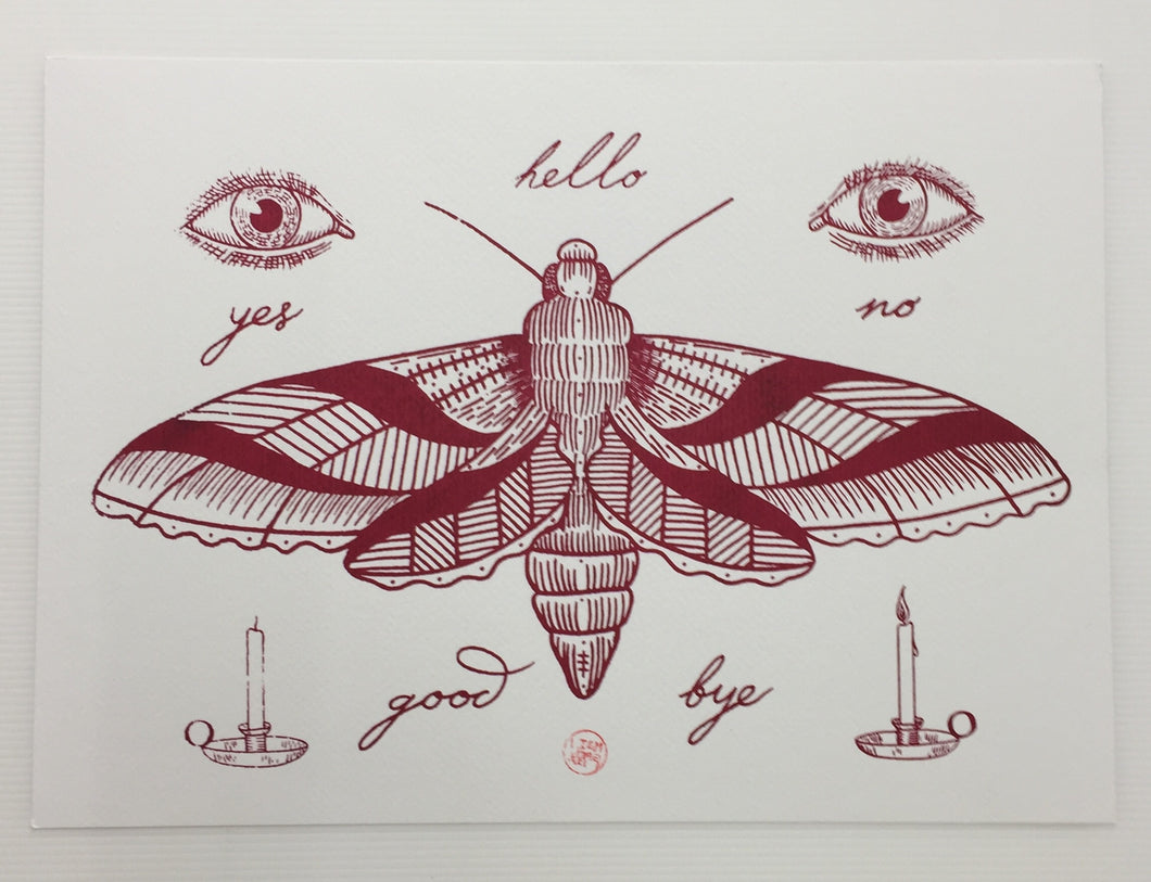 Screen Printed Tattoo Flash 03 | Liam Sparkes