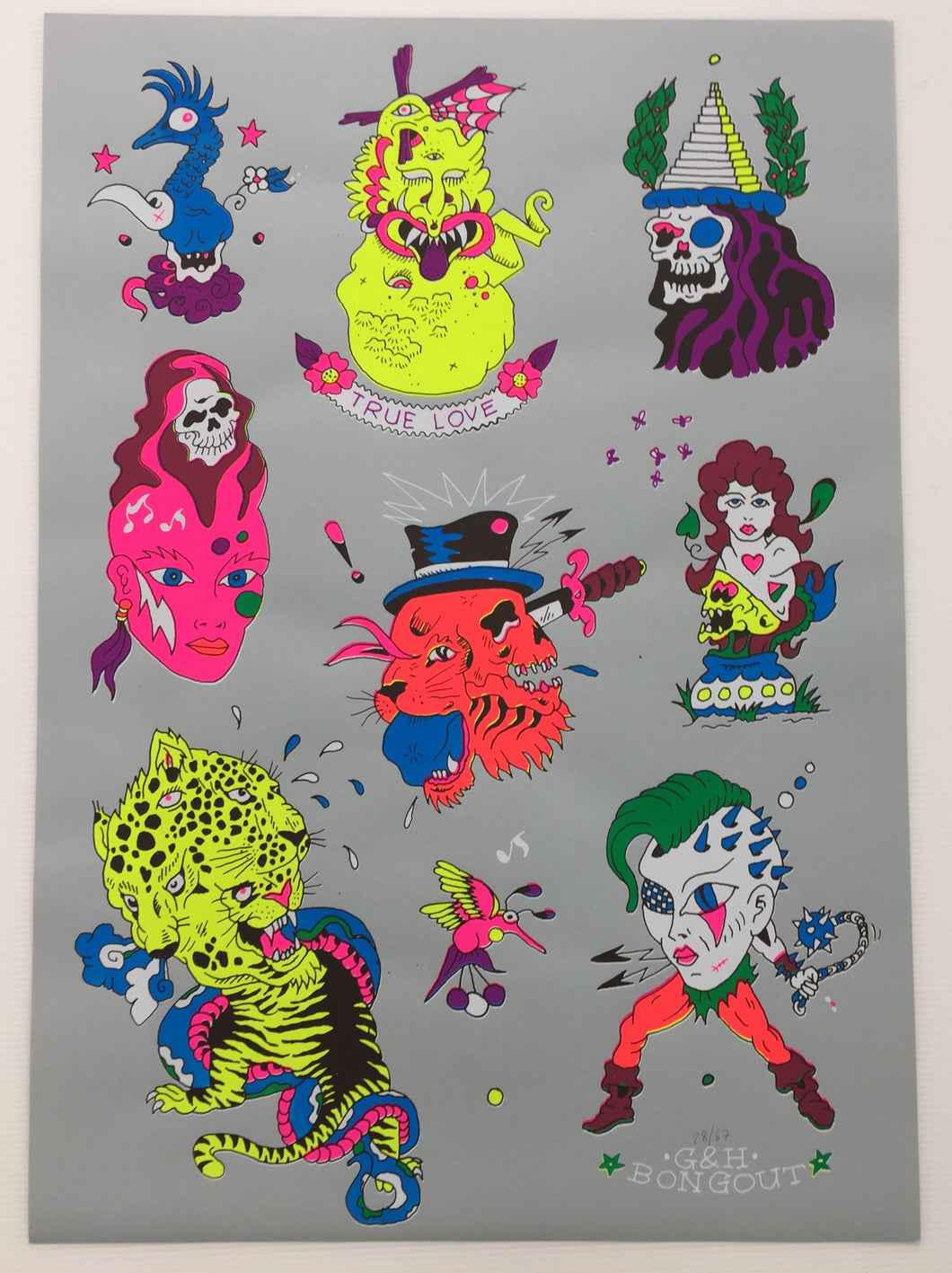 Tattoo Flash 01 | G+H Bongoût
