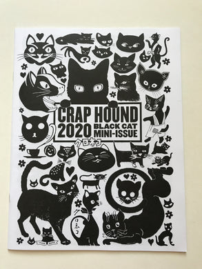 Crap Hound - mini issue Black cats