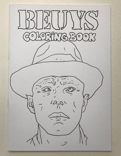 Beuys Coloring book | Christian Gfeller