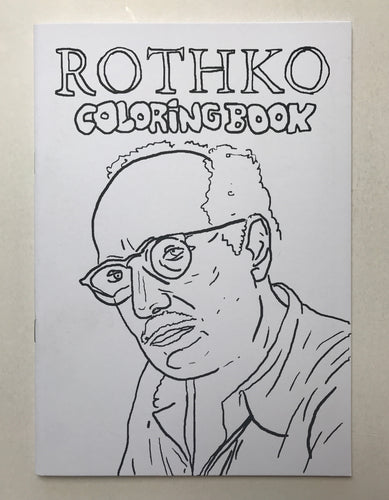 Rothko Coloring book | Christian Gfeller