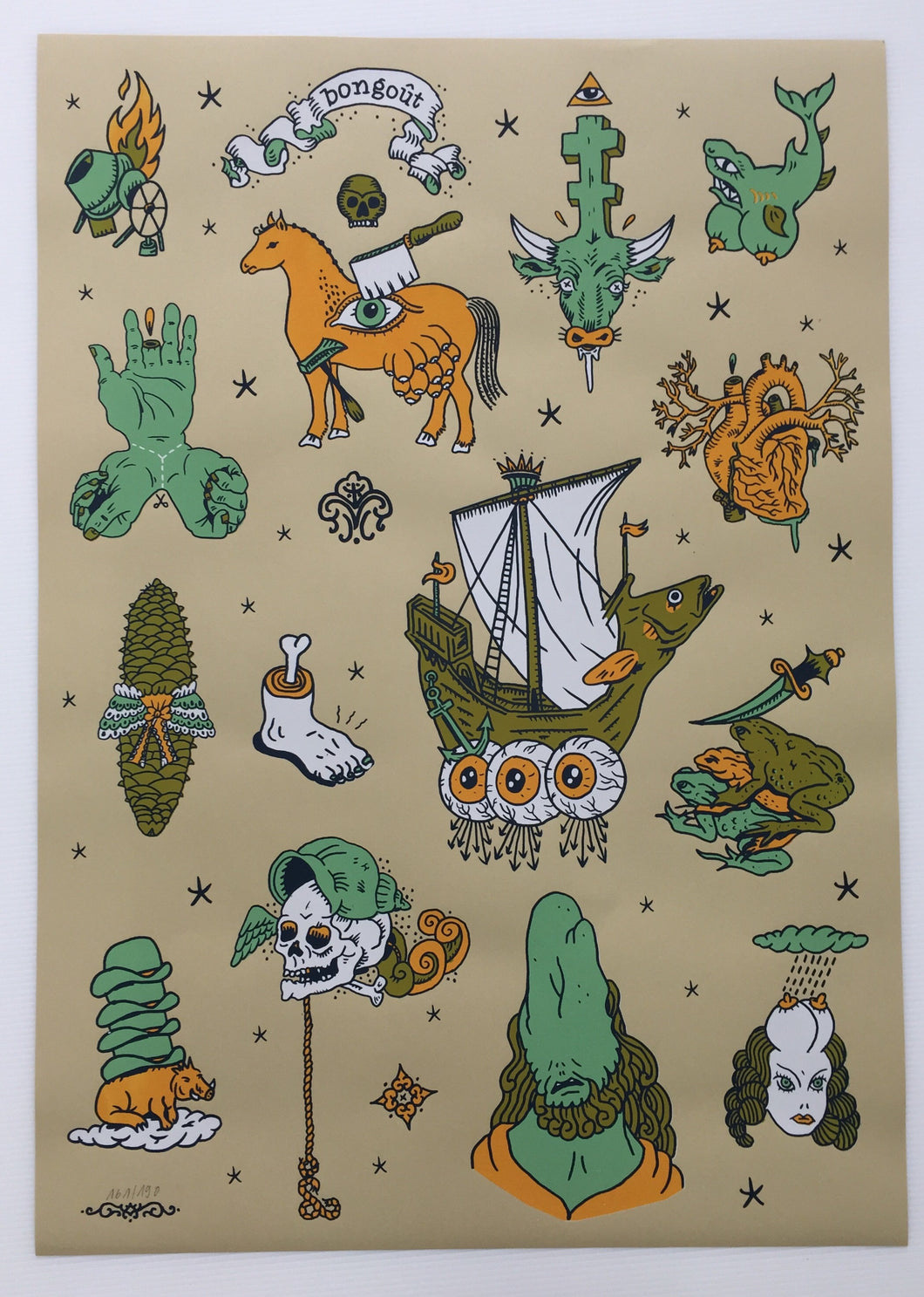 Tattoo Flash 02 | G+H Bongoût