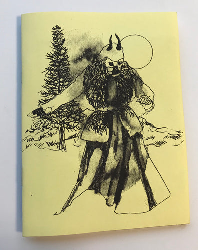 Mini Zine | Goya On The Stake by Maël Nozahic