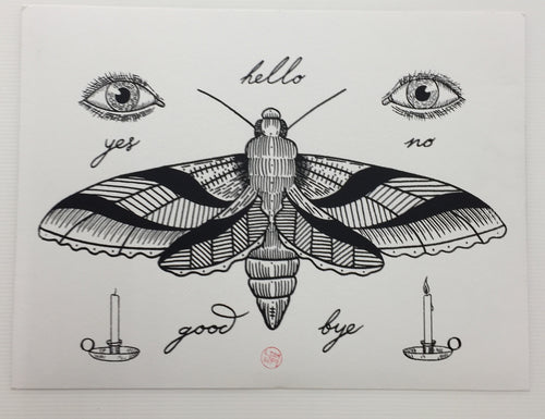 Screen Printed Tattoo Flash 02 | Liam Sparkes