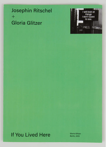 If you live here | Josefine Ritschel & Gloria Glitzer (Gloria Glitzer)