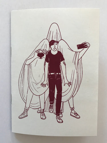 Mini Zine | Aubrey Beardsley on Emotional Violence  by Lilli Loge
