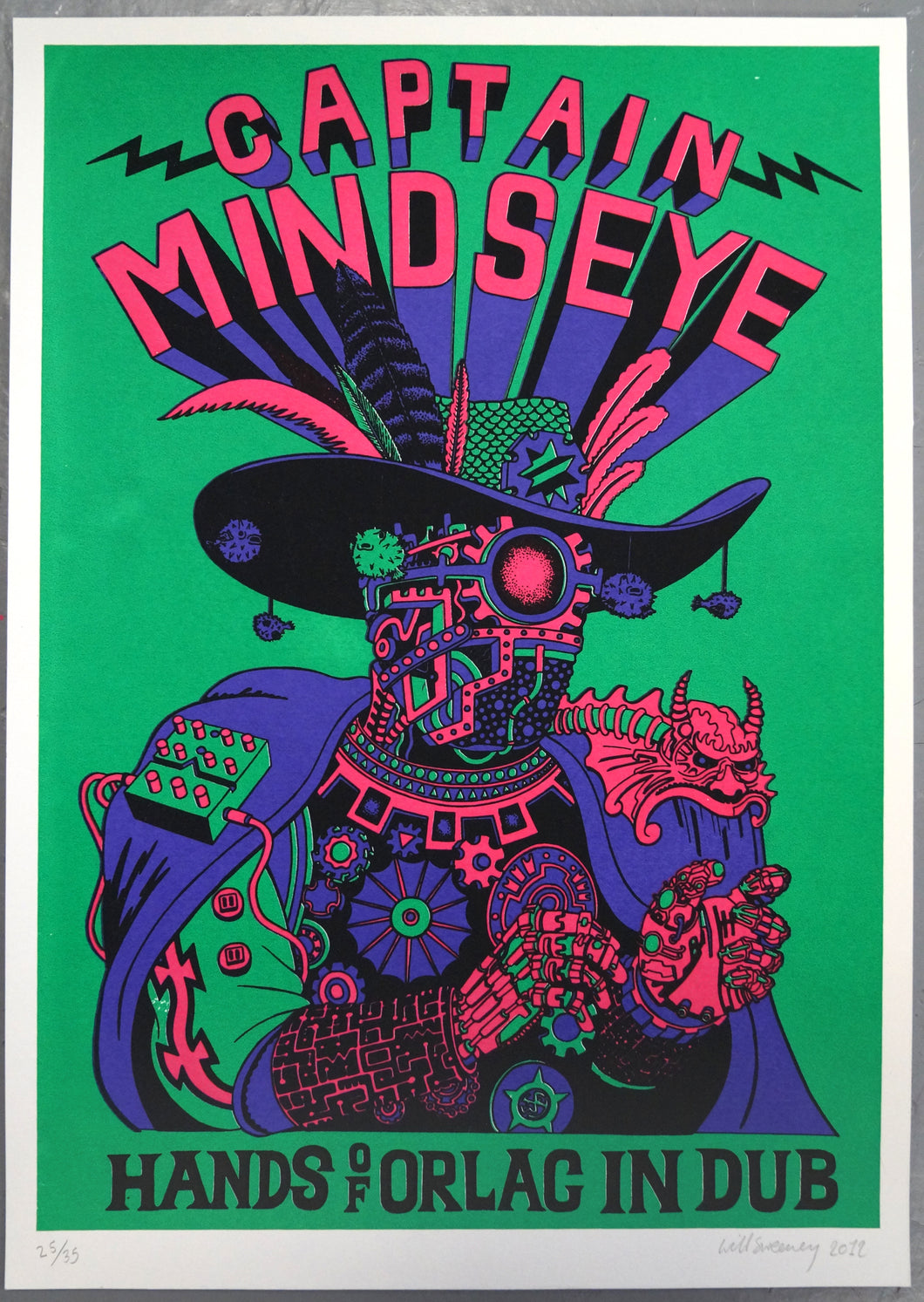 Captain Mind Eye 03 | Will Sweeney