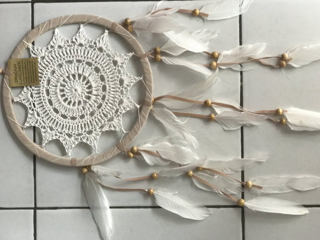 Dreamcatcher 22cm natural edge