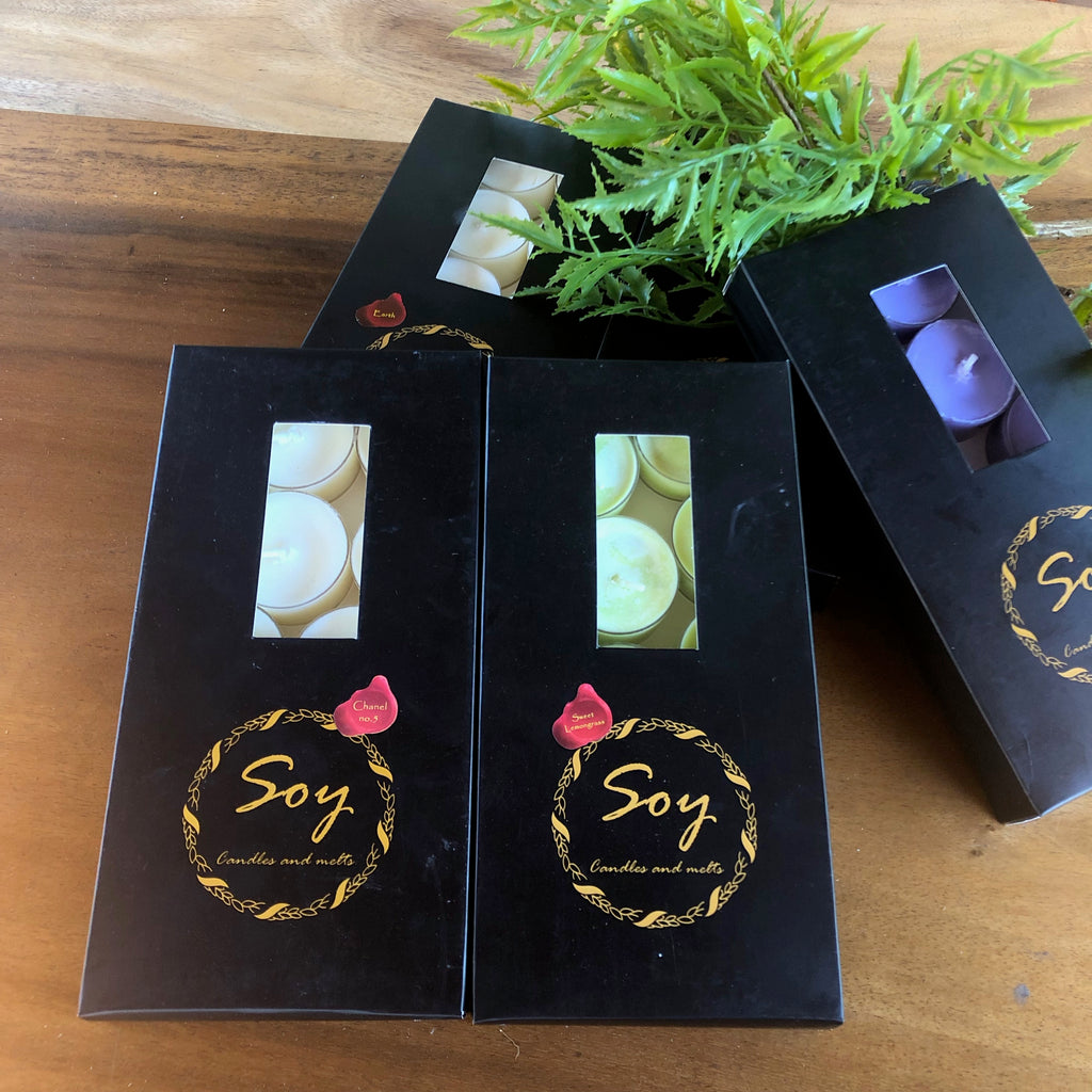 Soy Tea Lights Buy 2 Packs Get 3rd 60% OFF