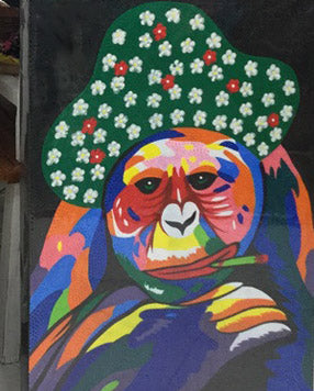 Painting Monkey Mexican