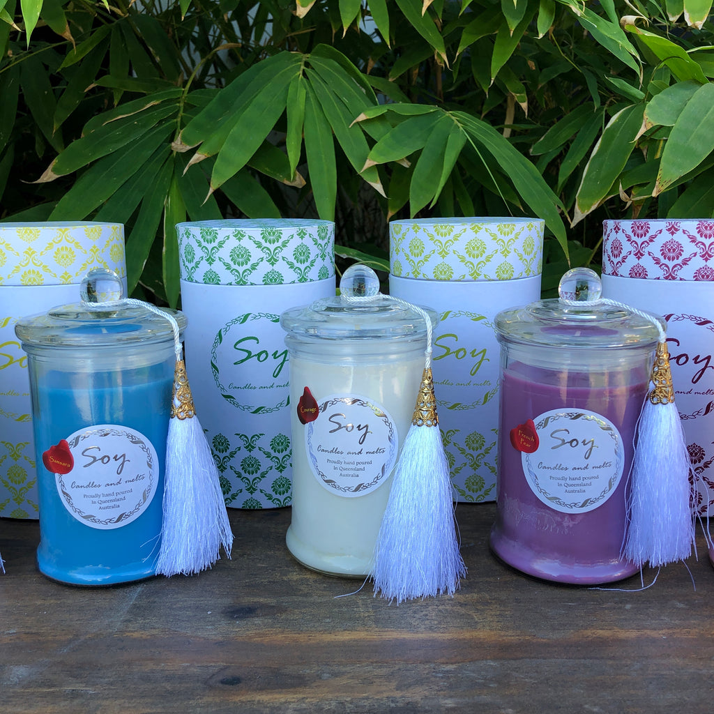 80 hr Soy Candles • 60 Amazing Fragrances To Choose From