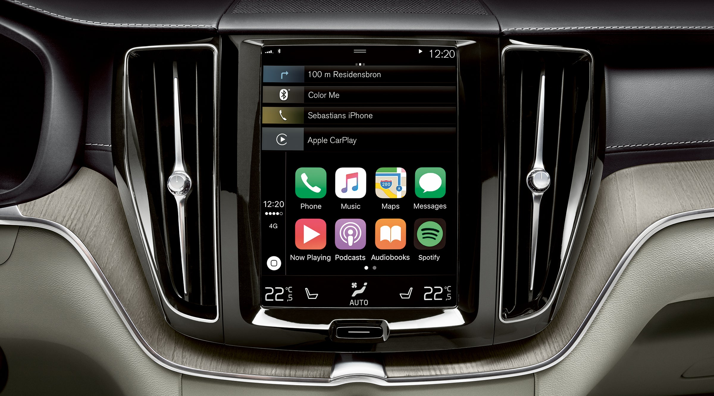 Volvo Touchscreen Display-Folie