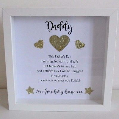 Personalised Love From The Baby Bump Frame Nana Bs Workshop
