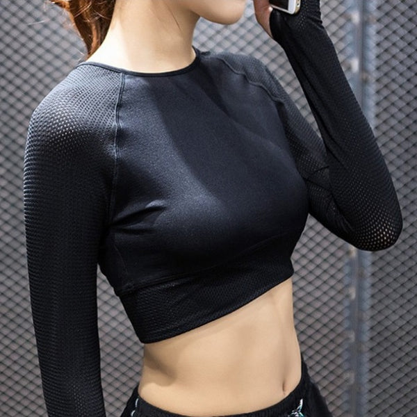 Light Workout Crop Top