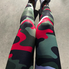 Aero Camouflage Leggings