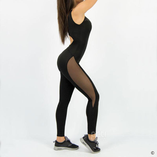 Competitive Mesh Jumpsuit