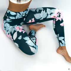 Lady Floral Leggings