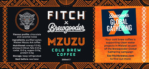 FITCH Mzuzu Malawi Cold Brew Coffee - Limited Edition