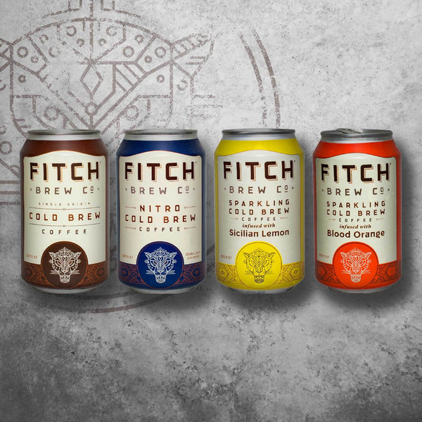 FITCH Multipack Cold Brew Coffee - FITCH Brew Co