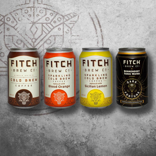 FITCH Still & Sparkling Cold Brew Coffee Multipack - FITCH Brew Co