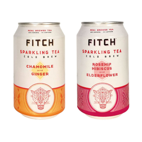 FITCH Sparkling Cold Brew Tea - Multipack