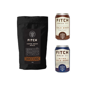 FITCH Multipack: Coffee Beans + Cold Brew