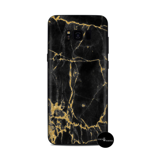 African Gold Marble Samsung Skin