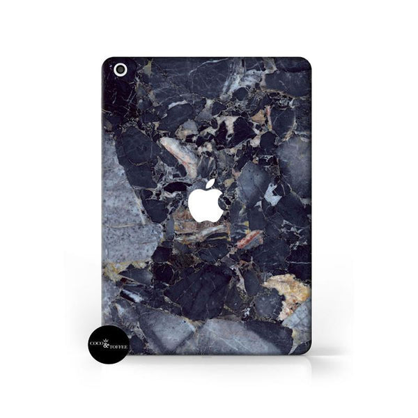 Dark Blue Marble iPad Skin