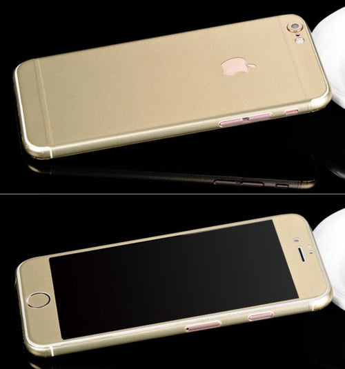 Full-Body Wrap Skins for iPhone - Gold - Coco and Toffee