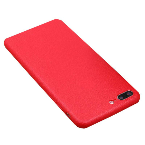 Red Leather Case for Samsung
