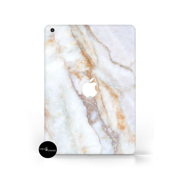 Peach Marble iPad Skin - Coco and Toffee